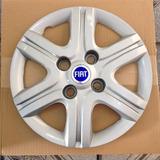Calota Grid Fiat Pálio Fire Aro 13 Com Emblemas De Alumínio