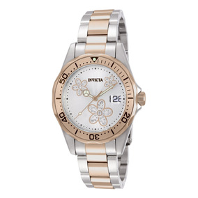Reloj Invicta Angel Acero Inoxidable Rose-gold, -steel Dama.
