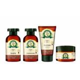 Kit Bioextratus Botica Henna Cabelos Escuros 4 Produtos