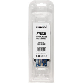 Hd Ssd M.2 M2 Sata Crucial Mx300 275gb 2280 Pc/notebook