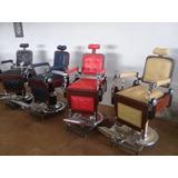 Cadeiras De Barbeiro Restauradas Parcela Em 12x Frete Grátis