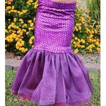 Sirena Falda Cola Niñas Madres E Hijas Disfraz Moda Azukiel
