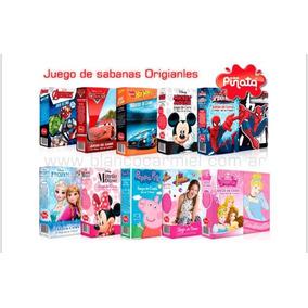 Juego De Sabana Infantil Disney Todo Los Personajes Original