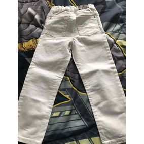 Pantalón Blanco Tommy Talle 4 Sin Uso