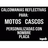 Calcomanias Reflectivas Para Motos Y Cascos