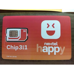 Chip Nextel Happy Pré Pago***