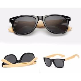 Óculos De Sol Bambu Bamboo Brasil Reef Madeira Marrom
