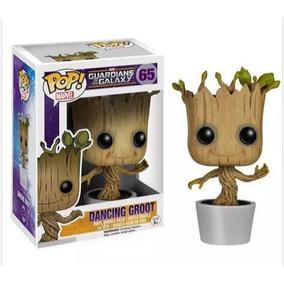 Funko Pop Dancing Baby Groot Guardiões Da Galáxia 65 C/caixa
