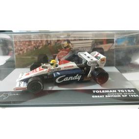 F1 - Ayrton Senna - Toleman 1984 - 1:43 - Patrocínio Candy