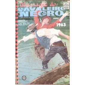 Almanaque Do Cavaleiro Negro - 1963 - Rge - Frete Grátis