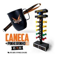 Caneca + Pinheirinho 3d Velopark