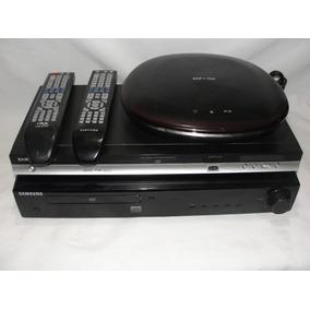 Lote Aparelho Dvd Samsung H1080r - P370 E Ht Z220t/ Axz