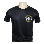 Camisa Tática Escolta Armada Vigilante Com Nome De Guerra