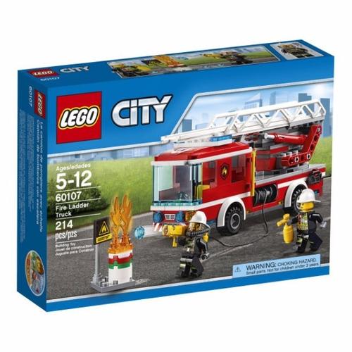 Lego 60107 Caminh?o Com Escada De Combate Ao Fogo City C/nf