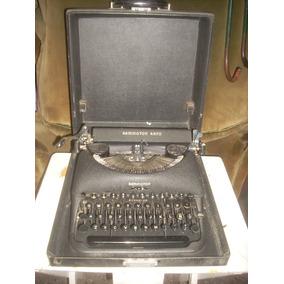 Lamonica Maquina De Escribir Remington Rand Portatil Impecab