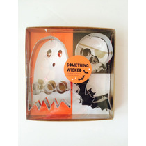 Cortador De Galletas Para Halloween Calavera Fantasma Murc