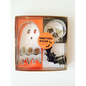 Cortadores Galletas Para Halloween Calavera Fantasma Murc