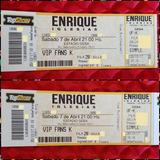 Entradas Enrique Iglesias 07-04 Geba Vip Fans K