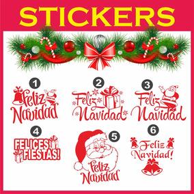 Vinilo Decorativo Navidad Vidrieras Negocios Ploter