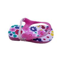 Ojotas Confortable Bebé Infantil Con Elastico 19-26 X 6