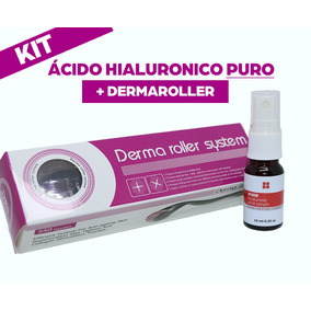Kit Dermaroller System + Acido Hialuronico 10ml