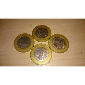 Monedas De Colección 20 Pesos Combo De 4