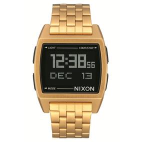 Reloj Nixon Dorado Base