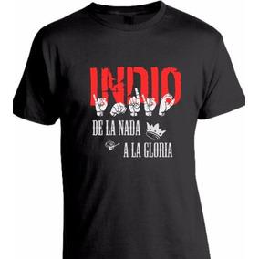 Remeras #indio Solari 100%algodón Estampadas En Vinilo