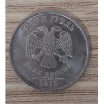 Moeda Antiga Estrangeira Russia 1 Rublo Ano 1996