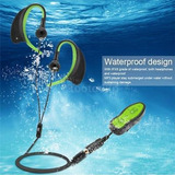 Mp3 8gb Reproductor Música Impermeable Con Auriculares Clip