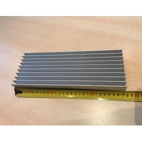Disipador De Aluminio Anodizado Alta Potencia Reciclado