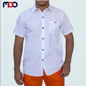 Camisas Caballeros Estampadas Mgo Originales