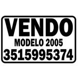 Cartel Vendo Auto 30x20cm Calcomania Sticker Vinilo