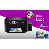 Impresora Multifuncional Epson L850 Fotográfico De Fabrica