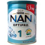 Leche Infantil Nan Optipro 1 De 0 A 6 Meses Nestle 1.1kg