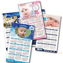 10 Imanes Calendarios Almanaques Personalizados 2017
