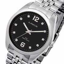 Relógio Lince Masculino Strass (orient) Wr 30m Lrm4114l