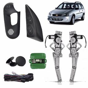 Kit Vidro Eletrico Corsa Sedan 2000 4 Portas Dianteiro