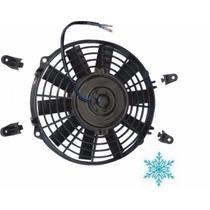 Eletro Ventilador Ar Condicionado Universal 10 Polegadas 12v