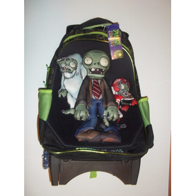 Backpack Mochila Plantas Contra Zombies 3d2 Carrito