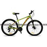 Bicicleta Mtb Rm R29 24v Aluminio Suspension Frenos Disco