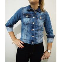 Jaqueta Jeans Lady Rock Blusa Feminina Barato