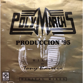 Cd Polymarchs Production95 Con Portadas Mojadas Y Arrugadas