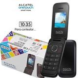 Celular Barato Alcatel 1035d Tecla Grande Para Idoso Flip