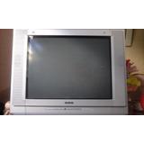 Televisão Cce 21 Tela Plana Com Conversor Digital Positivo