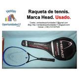 Raqueta De Tenis Head Graphite Fusión Con Bolso