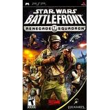 Videojuego Psp Star Wars Battlefront Renegade Squadron Sony