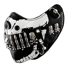 Bullet Mask Mens Punk Rock Motociclista Custome Hip Hop Mot