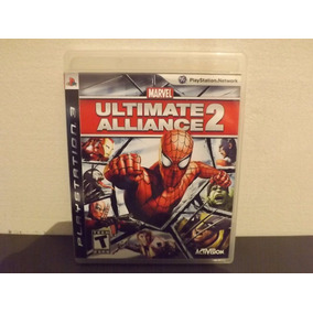 Ps3 Marvel Ultimate Alliance 2 - Completo - Aceito Trocas...