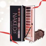 Paleta Sombras Ojos Naked Maquillaje Mate 100% Original